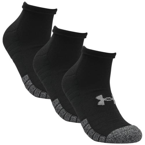 Under Armour Mens Golf HeatGear Tech Low Cut Golf Socks - 3 Pack