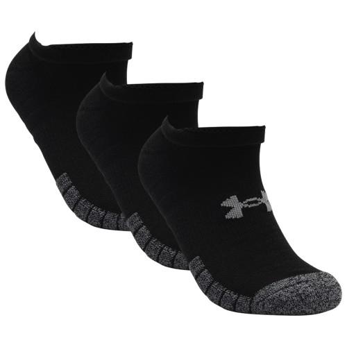Under Armour Mens Golf HeatGear Tech No Show Golf Socks - 3 Pack