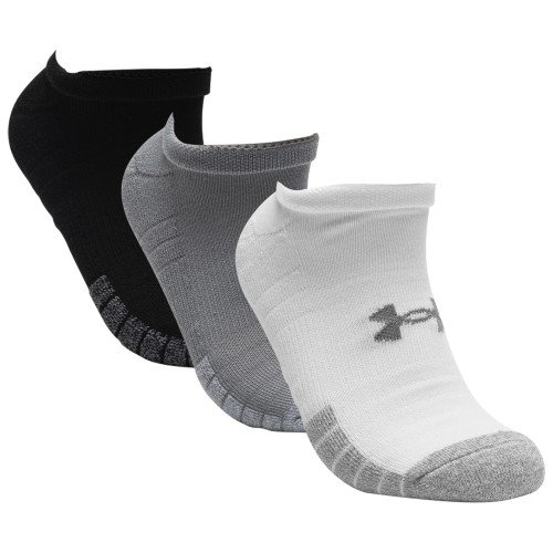Under Armour Mens 2020 Golf HeatGear Tech No Show Golf Socks - 3 Pack