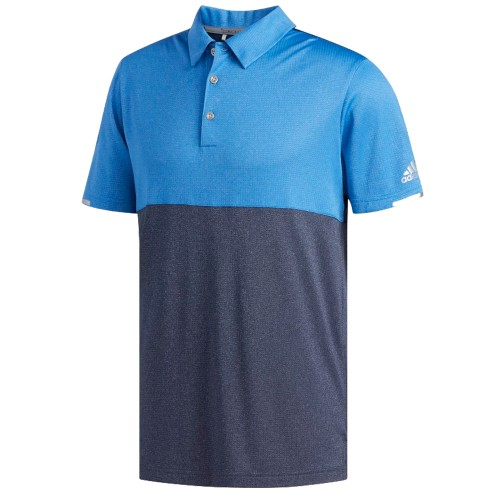 Adidas Mens Golf ClimaChill Core Heather Competition Polo Shirt