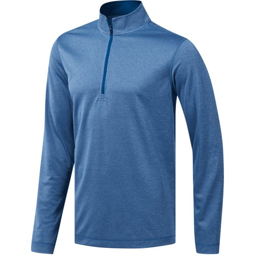 Adidas Mens UV Protection 1/4 Zip Golf Sweatshirt