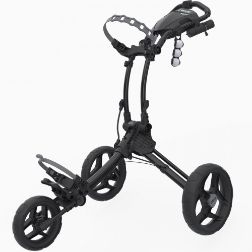 CLICGEAR ROVIC RV1C GOLF TROLLEY PUSH CART + UMBRELLA HOLDER
