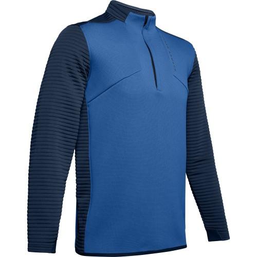 Under Armour Golf UA Storm Daytona Mens 1/2 Zip Sweater (Tempest)