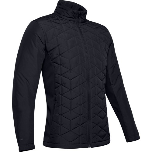 Under Armour Golf Mens ColdGear Reactor Hybrid Jacket  - Black