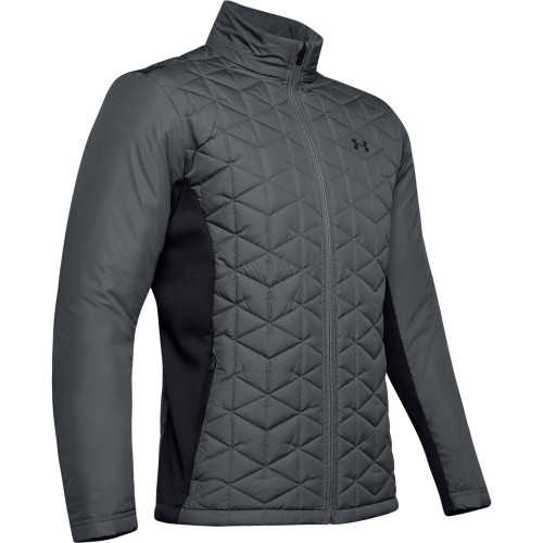 Under Armour Golf Mens ColdGear Reactor Hybrid Jacket (Pitch Grey)