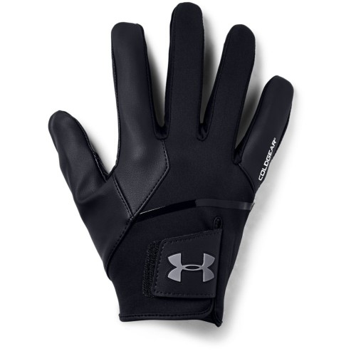 Under Armour 2020 ColdGear Infrared Leather Palm Winter Golf Gloves Pair reverse