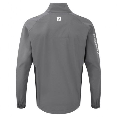 FootJoy Mens HydroLite Rain Golf Waterproof FJ Performance Full Zip Jacket reverse