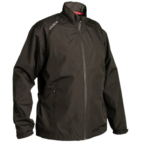 "PROQUIP MENS TEMPEST WATERPROOF LIGHTWEIGHT PERFORMANCE FULL ZIP GOLF RAIN JACKET ""NEW 2020"""