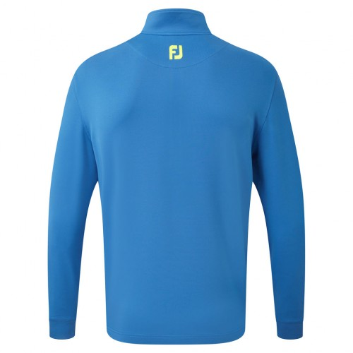 FootJoy Mens Jersey Chest Stripe Chillout Golf Pullover Sweater Jumper reverse