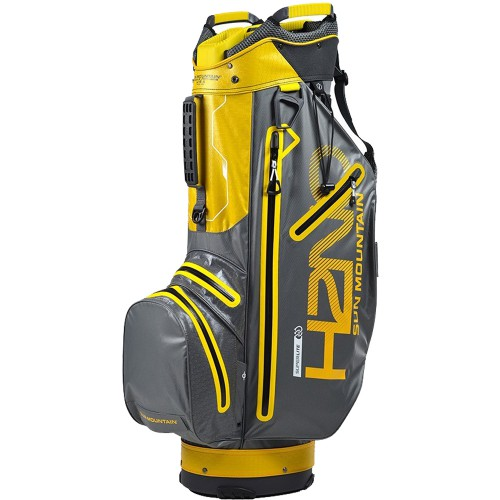 SUN MOUNTAIN H2NO SUPERLITE WATERPROOF CART TROLLEY GOLF BAG