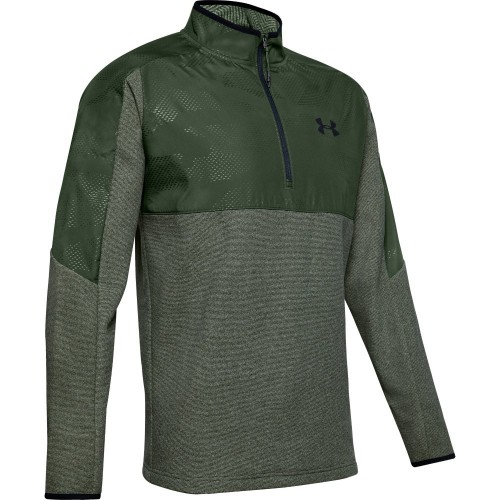 Under Armour Mens 2020 Coldgear CGI 1/2 Zip Thermal Golf Jumper Sweater