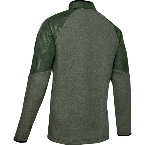 Under Armour Mens 2020 Coldgear CGI 1/2 Zip Thermal Golf Jumper Sweater reverse