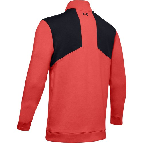 Under Armour Mens 2020 UA Storm PlayOff 1/2 Zip Water Repellent Golf Sweater reverse