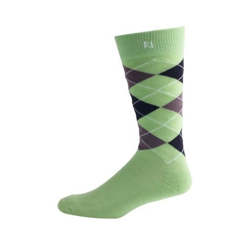 FootJoy Mens ProDry Fashion Crew Argyle Golf Socks