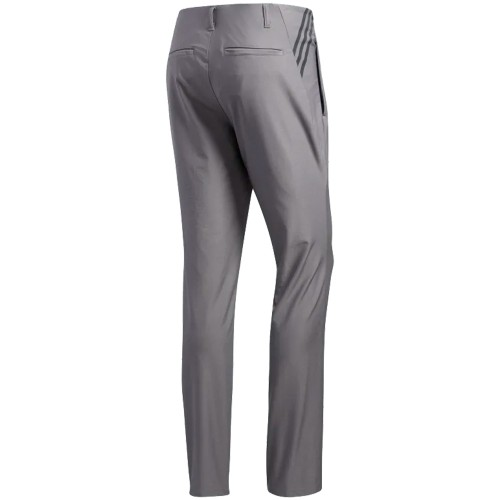 adidas Ultimate 365 3-Stripes Tapered Mens Golf Trousers (Grey Three)