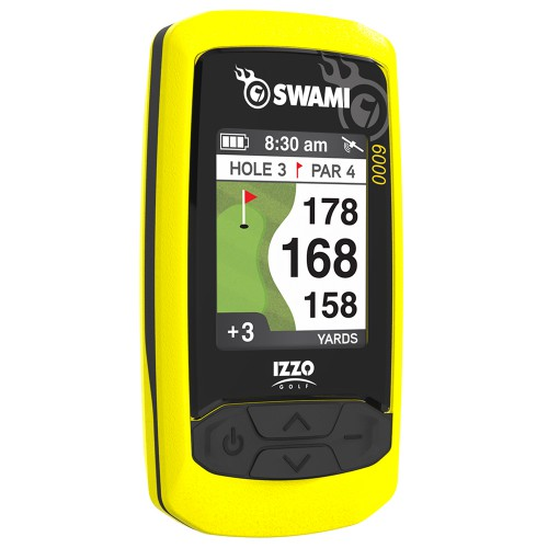 Izzo Swami 6000 GPS Golf Range Finder Preloaded With Over 38000 Courses