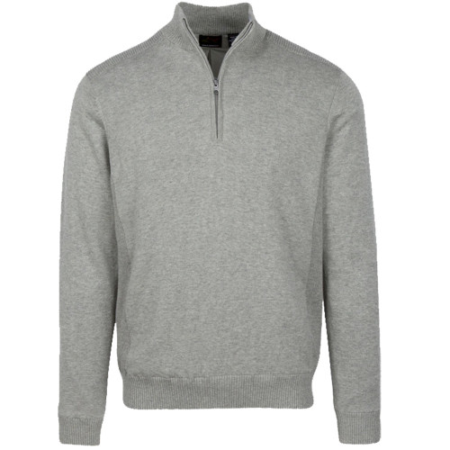 "Greg Norman Mens Performance Blend Lined 1/4 Zip Golf Wind Sweater ""2020"""