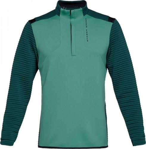 Under Armour Golf UA Storm Daytona Mens 1/2 Zip Sweater (Dust)