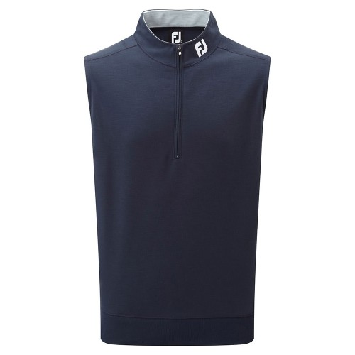 FootJoy Mens Spun Poly 1/2 Zip Golf Vest