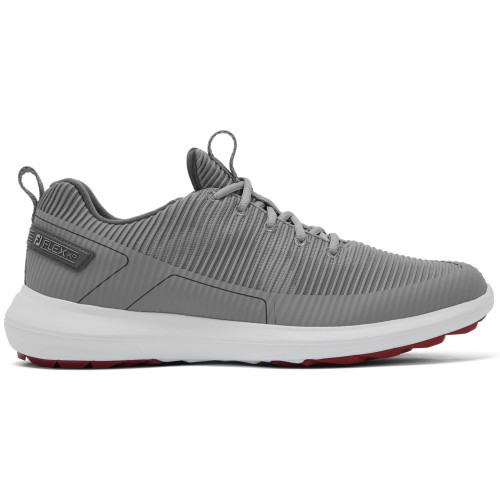 FootJoy Flex XP Spikeless Mens Golf Shoes  - Grey