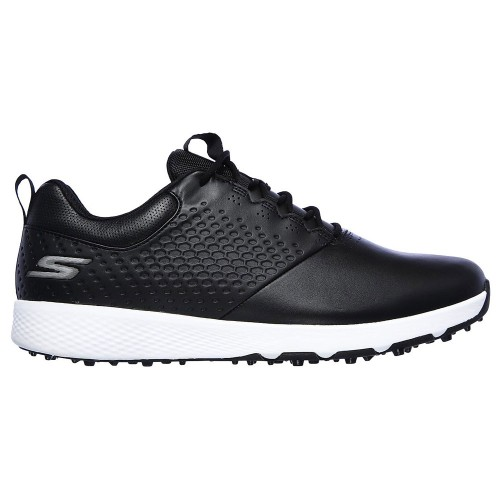 Skechers Go Golf Elite V.4 Mens Spikeless Golf Shoes (Black/White)