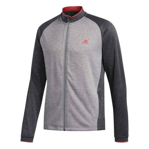 adidas Golf Textured Full Zip Mens Jacket