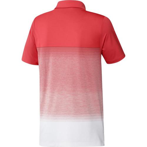 adidas Golf Ultimate 1.1 Print Mens Polo Shirt reverse