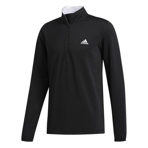 adidas Golf 3-Stripes Mens Midlayer (Black)