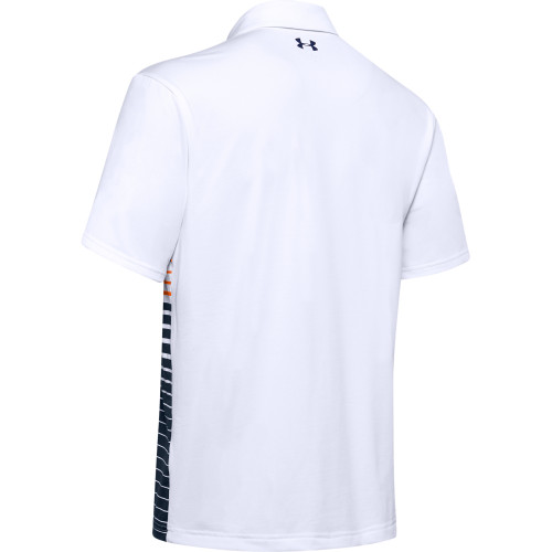 Under Armour Mens Gradiated Stripe PlayOff Golf Polo Shirt reverse