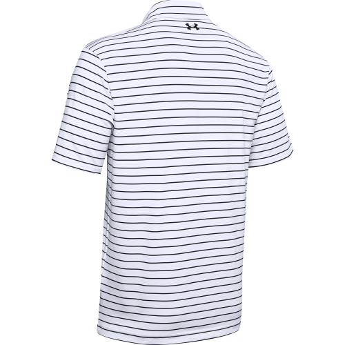 Under Armour Mens Tour Stripe PlayOff Golf Polo Shirt reverse