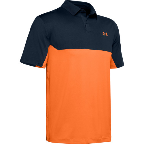 Under Armour Mens Colorblock Golf Polo Shirt
