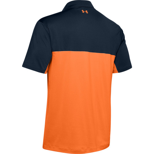 Under Armour Mens Colorblock Golf Polo Shirt reverse