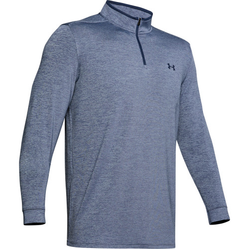 Under Armour Golf Playoff 2.0 1/4 Zip Mens Sweater (Blue)