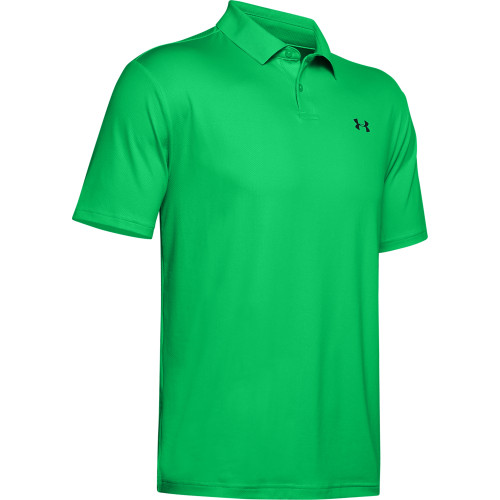 Under Armour Performance 2.0 Mens Golf Polo Shirt (Vapour Green)