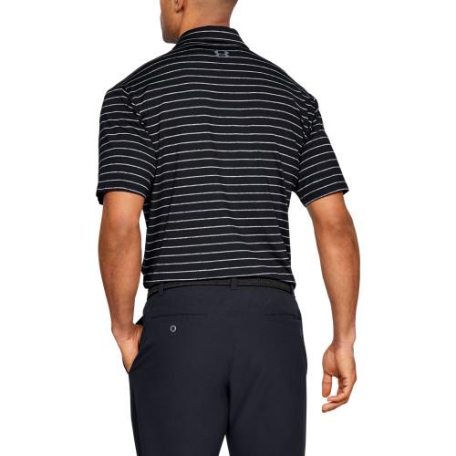 Under Armour Mens Tour Stripe PlayOff Golf Polo Shirt