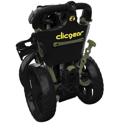 ClicGear Model 4.0 Golf Trolley 3-Wheel Push Cart + Umbrella Holder, Drinks Holder + Free Gift reverse