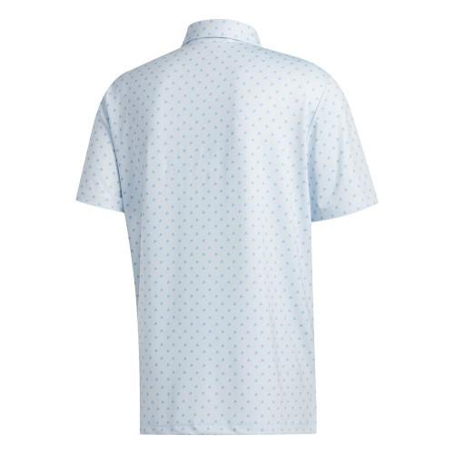 adidas Golf Ultimate365 Badge of Sport Mens Polo Shirt reverse