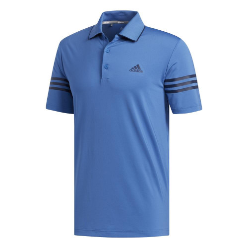 adidas Golf Ultimate365 Blocked Mens Polo Shirt (Trace Royal/Collegiate Navy)