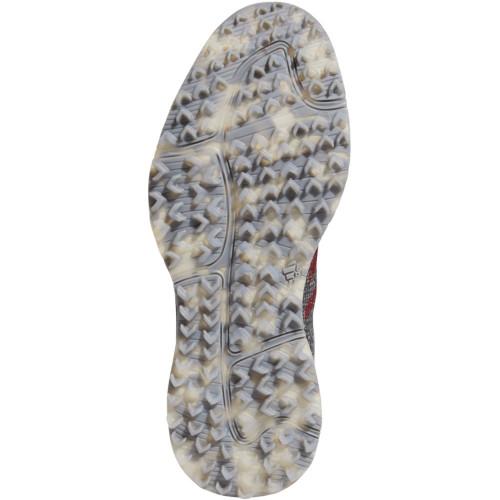 adidas S2G Mens Waterproof Spikeless Golf Shoes  - Grey Three/Collegiate Burgundy