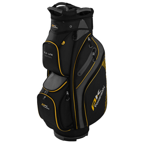 PowaKaddy DLX-Lite Edition 14-Way Divider Golf Cart Trolley Bag - New 2020