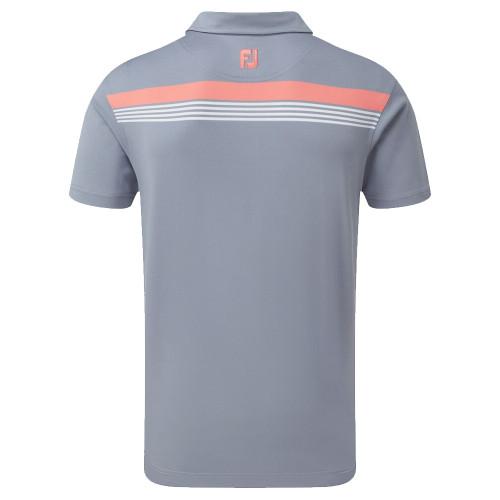 FootJoy Golf Stretch Pique Chestband Mens Polo Shirt reverse