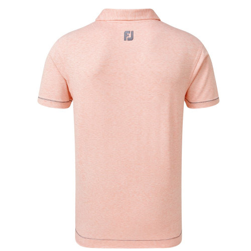FootJoy Golf Lisle Space Dye Microstripe Mens Polo Shirt reverse