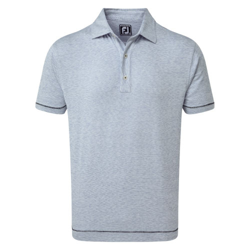 FootJoy Golf Lisle Space Dye Microstripe Mens Polo Shirt