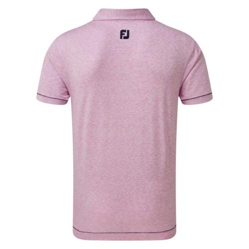 FootJoy Golf Lisle Space Dye Microstripe Mens Polo Shirt reverse