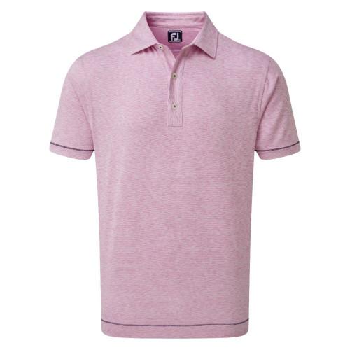 FootJoy Golf Lisle Space Dye Microstripe Mens Polo Shirt
