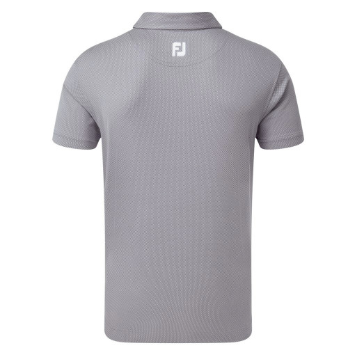 FootJoy Golf Four Dot Jacquard Mens Polo Shirt reverse