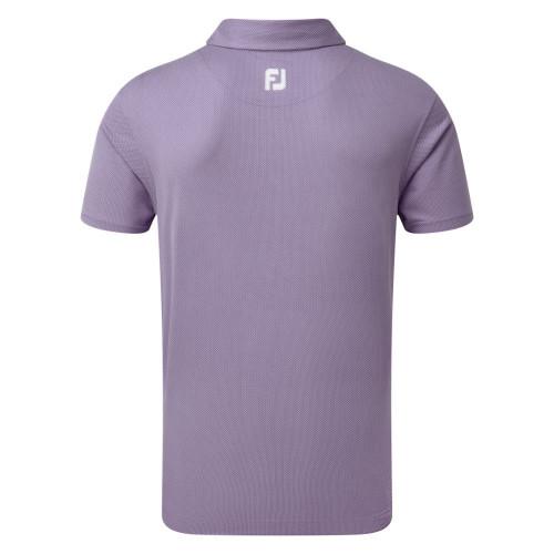 FootJoy Golf Four Dot Jacquard Mens Polo Shirt reverse