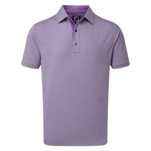 FootJoy Golf Four Dot Jacquard Mens Polo Shirt