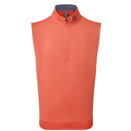 FootJoy Golf Chill-Out Vest Mens Gilet (Coral)