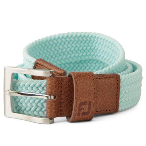 FootJoy Golf FJ Braided Belt (Mint)
